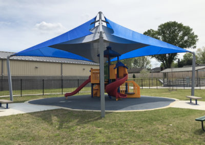 Little Tikes Playground under USA Shade Structure
